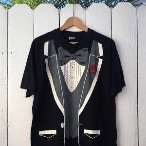Other - Vintage 1980 Tuxedo T Shirt (RARE)